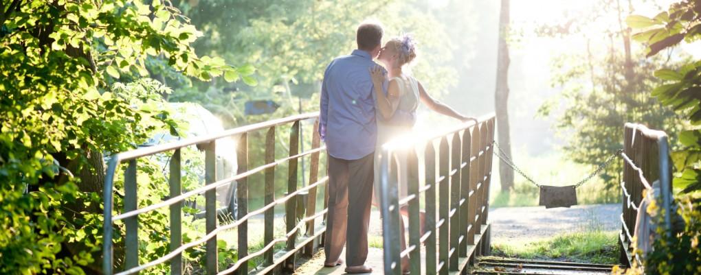 Hochzeit, Hochzeitspaar im Grünen, Meike Seyfried