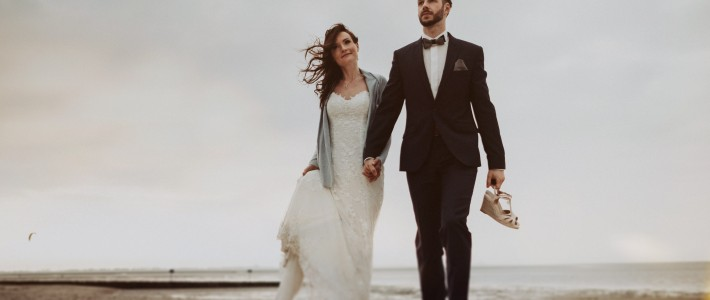 Heiraten am Strand, Inselhochzeit, Hochzeitsplanung Sylt, Juist, Norderney